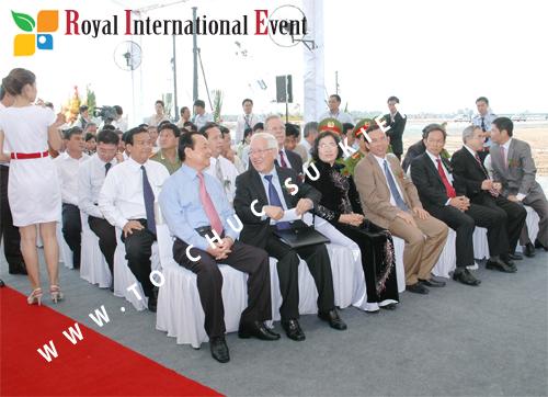 Tổ chức sự kiện Lễ Khởi Công Khu Công Nghiệp Đông Nam 32