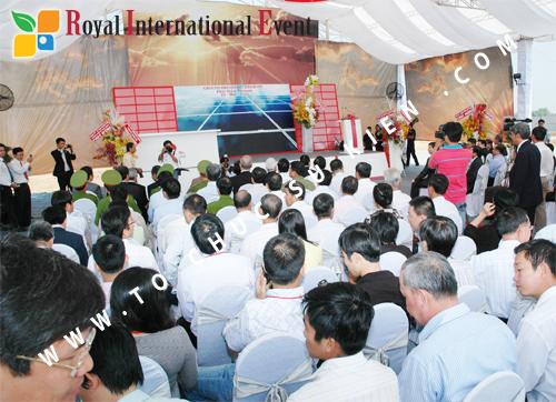 Tổ chức sự kiện Lễ Khởi Công Khu Công Nghiệp Đông Nam 34