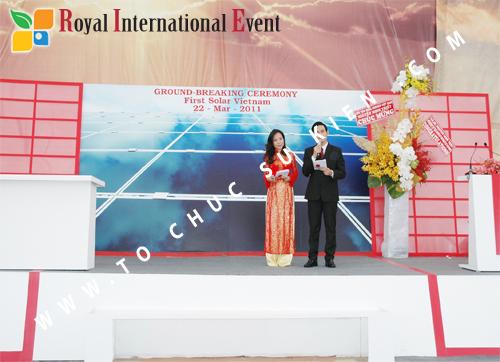 Tổ chức sự kiện Lễ Khởi Công Khu Công Nghiệp Đông Nam 35