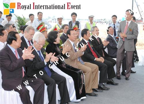 Tổ chức sự kiện Lễ Khởi Công Khu Công Nghiệp Đông Nam 36