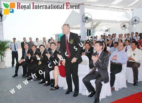 Tổ chức sự kiện Lễ Khởi Công Khu Công Nghiệp Đông Nam 37