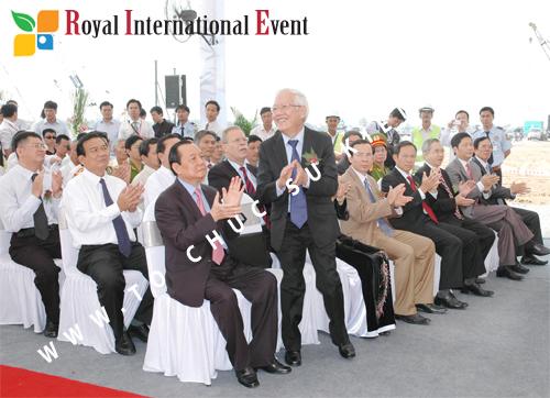 Tổ chức sự kiện Lễ Khởi Công Khu Công Nghiệp Đông Nam 39