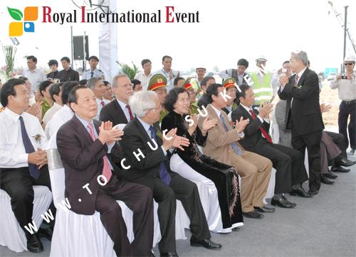 Tổ chức sự kiện Lễ Khởi Công Khu Công Nghiệp Đông Nam 42