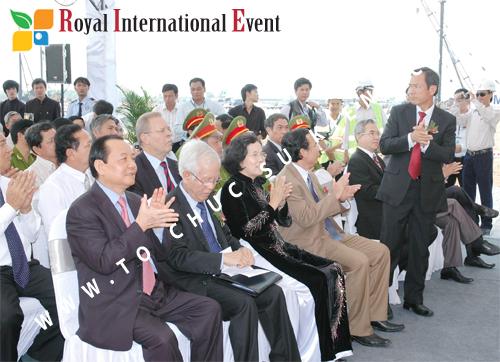Tổ chức sự kiện Lễ Khởi Công Khu Công Nghiệp Đông Nam 43