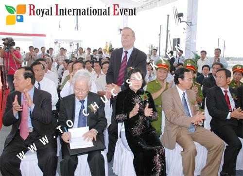 Tổ chức sự kiện Lễ Khởi Công Khu Công Nghiệp Đông Nam 45