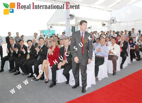 Tổ chức sự kiện Lễ Khởi Công Khu Công Nghiệp Đông Nam 46