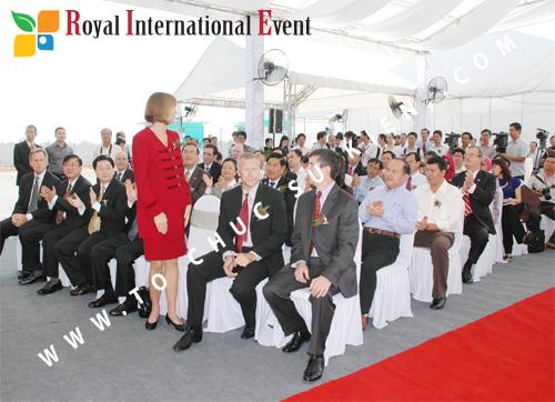 Tổ chức sự kiện Lễ Khởi Công Khu Công Nghiệp Đông Nam 47