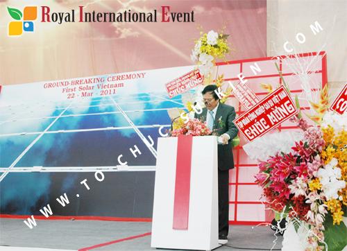 Tổ chức sự kiện Lễ Khởi Công Khu Công Nghiệp Đông Nam 48