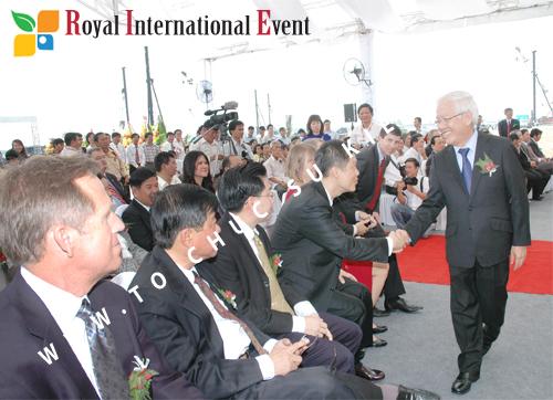 Tổ chức sự kiện Lễ Khởi Công Khu Công Nghiệp Đông Nam 49