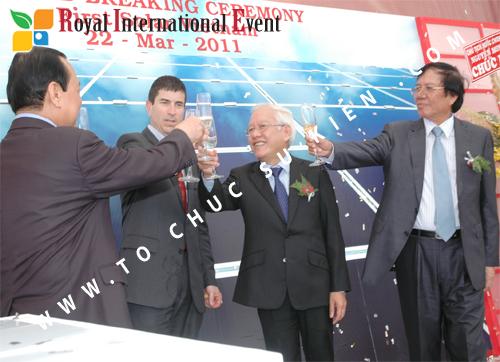 Tổ chức sự kiện Lễ Khởi Công Khu Công Nghiệp Đông Nam 53