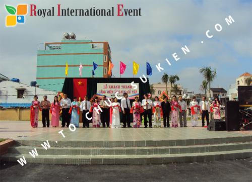 Tổ chức sự kiện lễ khánh thành Công Viên Làng Hoa tại Gò Vấp