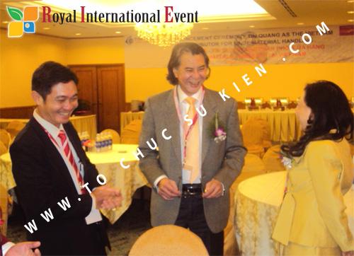 Tổ chức sự kiện Lễ công bố Tín Quang – nhà phân phối của hãng Linde Material Handling tại Việt Nam 14