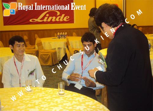 Tổ chức sự kiện Lễ công bố Tín Quang – nhà phân phối của hãng Linde Material Handling tại Việt Nam 15