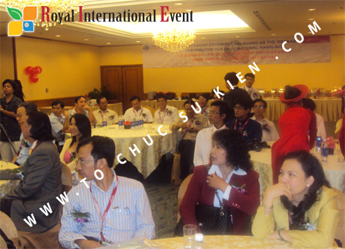 Tổ chức sự kiện Lễ công bố Tín Quang – nhà phân phối của hãng Linde Material Handling tại Việt Nam 18