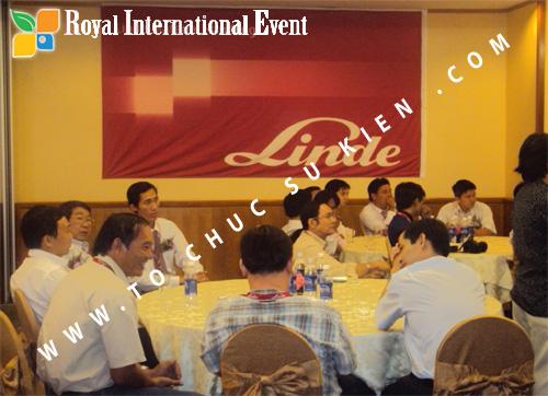 Tổ chức sự kiện Lễ công bố Tín Quang – nhà phân phối của hãng Linde Material Handling tại Việt Nam 19