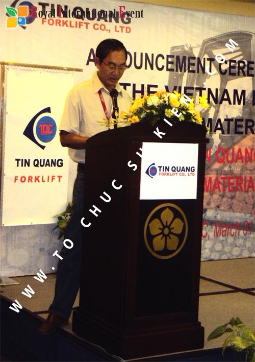 Tổ chức sự kiện Lễ công bố Tín Quang – nhà phân phối của hãng Linde Material Handling tại Việt Nam 25