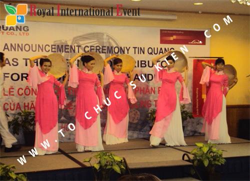 Tổ chức sự kiện Lễ công bố Tín Quang – nhà phân phối của hãng Linde Material Handling tại Việt Nam 26
