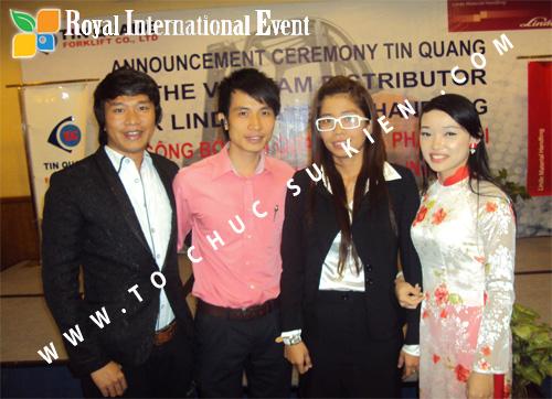 Tổ chức sự kiện Lễ công bố Tín Quang – nhà phân phối của hãng Linde Material Handling tại Việt Nam 33