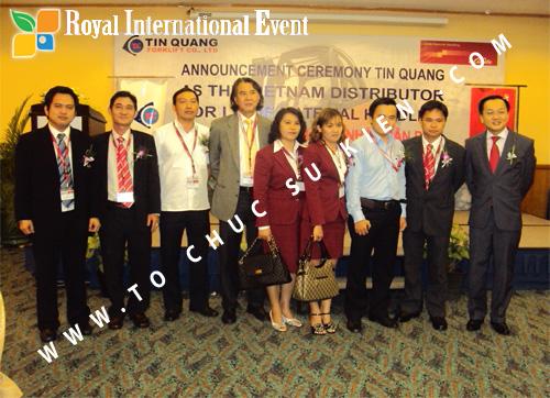 Tổ chức sự kiện Lễ công bố Tín Quang – nhà phân phối của hãng Linde Material Handling tại Việt Nam 34