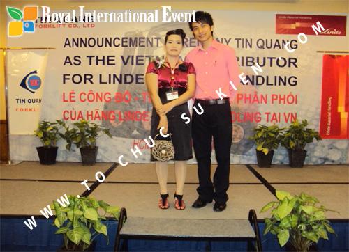 Tổ chức sự kiện Lễ công bố Tín Quang – nhà phân phối của hãng Linde Material Handling tại Việt Nam 36