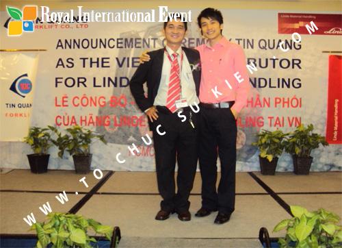 Tổ chức sự kiện Lễ công bố Tín Quang – nhà phân phối của hãng Linde Material Handling tại Việt Nam 37