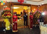 Tổ chức sự kiện Lễ công bố Tín Quang – nhà phân phối của hãng Linde Material Handling tại Việt Nam