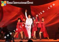 Tổ chức sự kiện Đêm tiệc Royal Dream – Giấc mơ hoàng tộc của Công ty CP Du Lịch Hoa Anh Đào và Cty CP ĐT KD Địa Ốc Hưng Thịnh