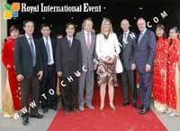 Cho thuê, cung cấp thiết bị sự kiện, nhân sự cho sự kiện - Chuyến tham quan Công ty TNHH Chế Biến Gia Vị Nedspice VN của phái đoàn Hoàng Gia Hà Lan cùng công nương Maxima Chuyến