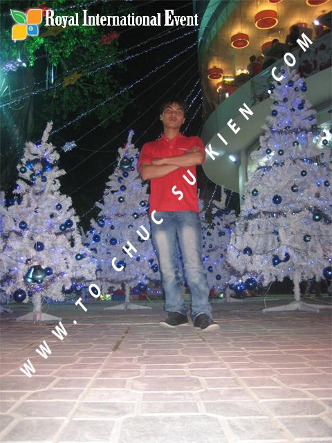 Cho thuê, Tổ chức sự kiện Đêm Giáng Sinh cho Trung tâm mua sắm HomeOne 3