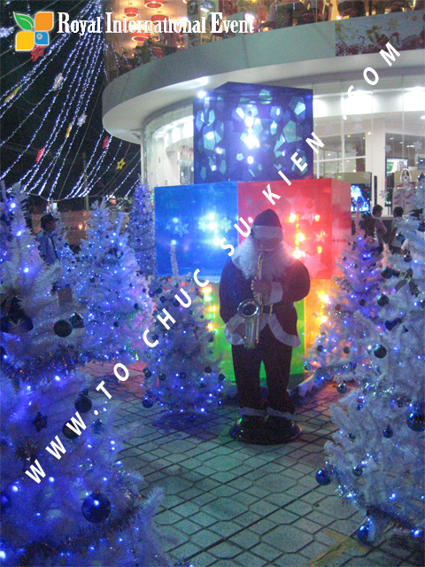 Cho thuê, Tổ chức sự kiện Đêm Giáng Sinh cho Trung tâm mua sắm HomeOne 5