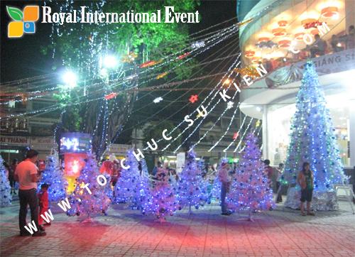 Cho thuê, Tổ chức sự kiện Đêm Giáng Sinh cho Trung tâm mua sắm HomeOne 6