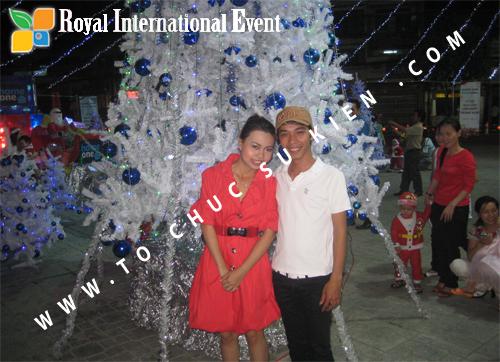Cho thuê, Tổ chức sự kiện Đêm Giáng Sinh cho Trung tâm mua sắm HomeOne 7