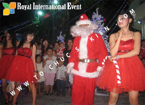 Cho thuê, Tổ chức sự kiện Đêm Giáng Sinh cho Trung tâm mua sắm HomeOne 16