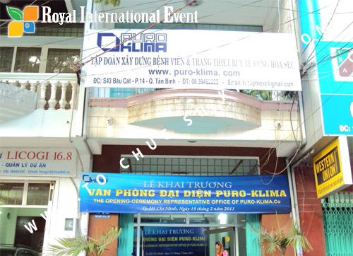 Tổ chức sự kiện Lễ Khai Trương Văn Phòng Đại Diện công ty Puro – Klima ( Cộng Hòa Czech) 1