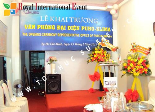 Tổ chức sự kiện Lễ Khai Trương Văn Phòng Đại Diện công ty Puro – Klima ( Cộng Hòa Czech) 2