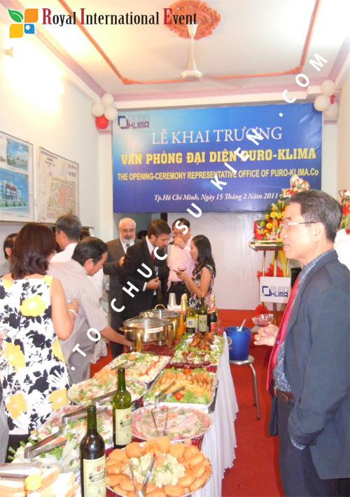 Tổ chức sự kiện Lễ Khai Trương Văn Phòng Đại Diện công ty Puro – Klima ( Cộng Hòa Czech) 20