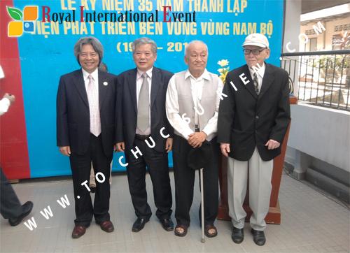 Tổ chức sự kiện Lễ kỷ niệm 35 năm thành lập Viện phát triển bền vững vùng Nam Bộ 1