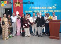 Tổ chức sự kiện Lễ kỷ niệm 35 năm thành lập Viện phát triển bền vững vùng Nam Bộ