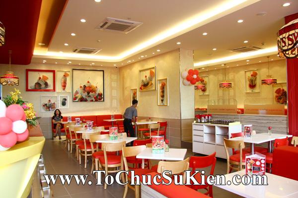 Tổ chức sự kiện Khai trương nhà hàng Kem Swensen's tại GrandView - Quận 7 - Tp.HCM - 01