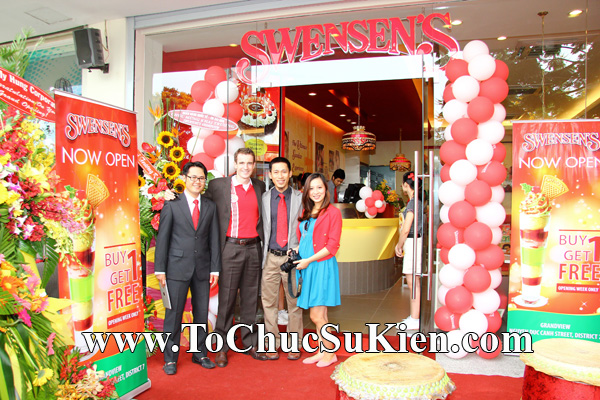 Tổ chức sự kiện Khai trương nhà hàng Kem Swensen's tại GrandView - Quận 7 - Tp.HCM - 02