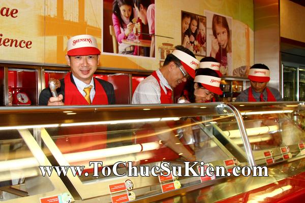 Tổ chức sự kiện Khai trương nhà hàng Kem Swensen's tại GrandView - Quận 7 - Tp.HCM - 08