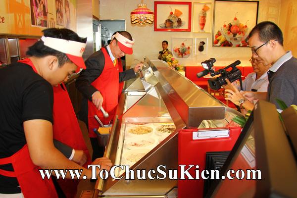 Tổ chức sự kiện Khai trương nhà hàng Kem Swensen's tại GrandView - Quận 7 - Tp.HCM - 09