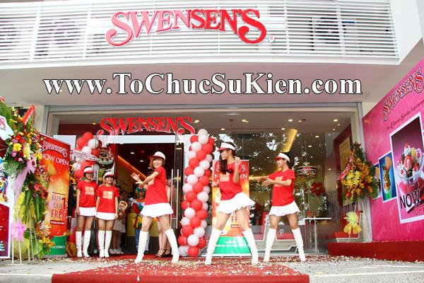 Tổ chức sự kiện Khai trương nhà hàng Kem Swensen's tại GrandView - Quận 7 - Tp.HCM - 11