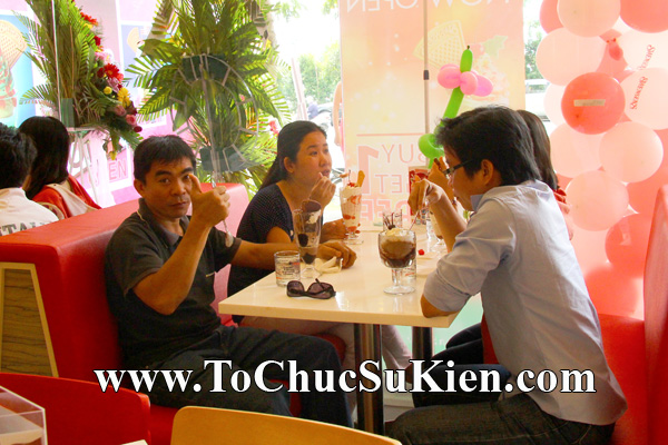 Tổ chức sự kiện Khai trương nhà hàng Kem Swensen's tại GrandView - Quận 7 - Tp.HCM - 16