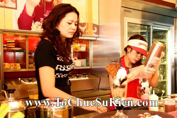 Tổ chức sự kiện Khai trương nhà hàng Kem Swensen's tại GrandView - Quận 7 - Tp.HCM - 19