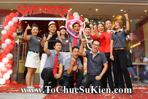 Tổ chức sự kiện Khai trương nhà hàng Kem Swensen's tại GrandView - Quận 7 - Tp.HCM - 26