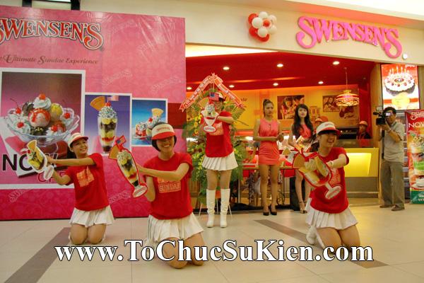 Tổ chức sự kiện Khai trương nhà hàng Kem Swensen's tại Trung tâm thương mại Pandora - Q. Tân Phú - Tp.HCM - 04