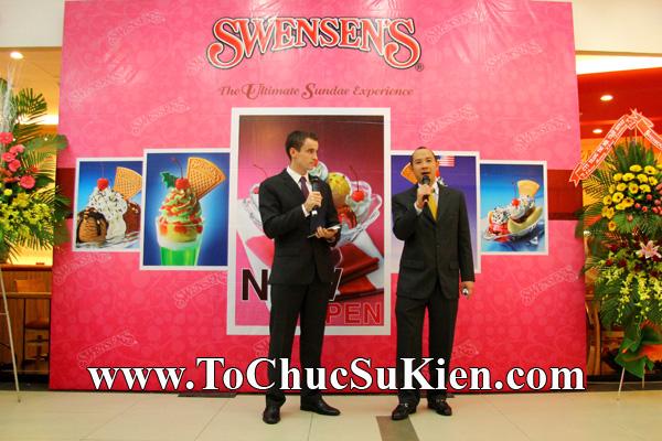 Tổ chức sự kiện Khai trương nhà hàng Kem Swensen's tại Trung tâm thương mại Pandora - Q. Tân Phú - Tp.HCM - 08