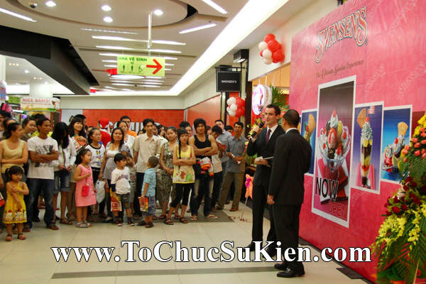 Tổ chức sự kiện Khai trương nhà hàng Kem Swensen's tại Trung tâm thương mại Pandora - Q. Tân Phú - Tp.HCM - 10