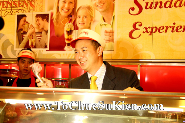 Tổ chức sự kiện Khai trương nhà hàng Kem Swensen's tại Trung tâm thương mại Pandora - Q. Tân Phú - Tp.HCM - 12